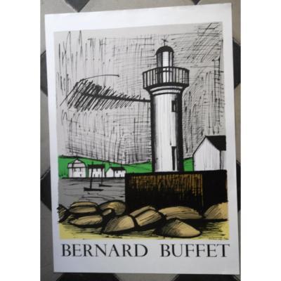 Lithograph By Bernard Buffet. Imp Mourlot.