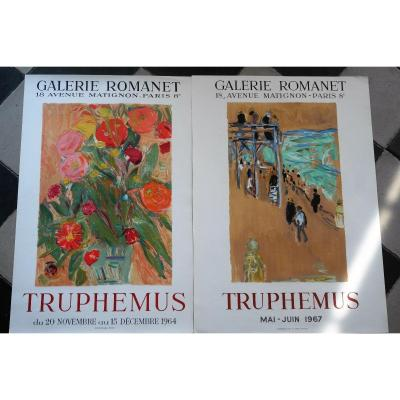 X2 Lithographs From Truphemus.pv413-414.
