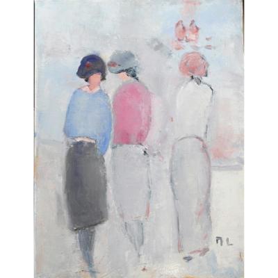 Monique Leinert Painting. Ht.sbd V1453
