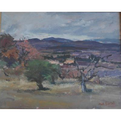 Painting Paul Surtel (1893-1985) Hp Sbd V 1458