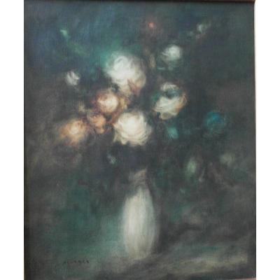 Painting Luis Alvarez. Oil On Canvas . Sbg V1485