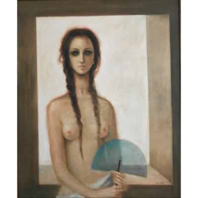 Painting Luis Alvarez. Oil On Canvas . Sbd V1491