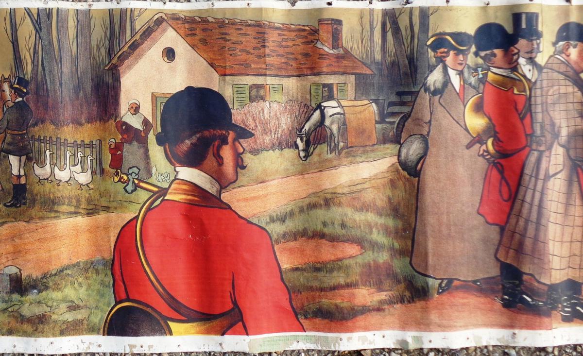 La chasse Affiche De Albert Guillaume LE RENDEZ VOUS 1911