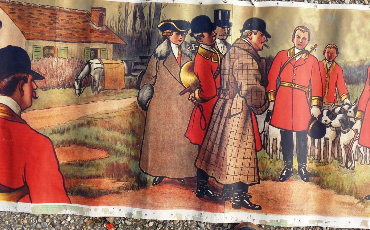 La chasse Affiche De Albert Guillaume LE RENDEZ VOUS 1911-photo-2