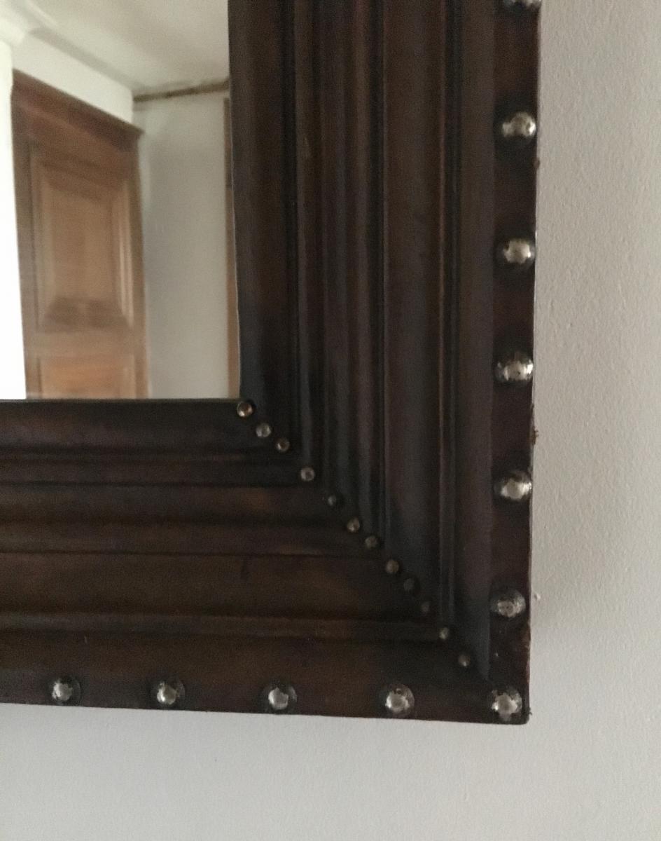 Miroir Cuir -photo-2