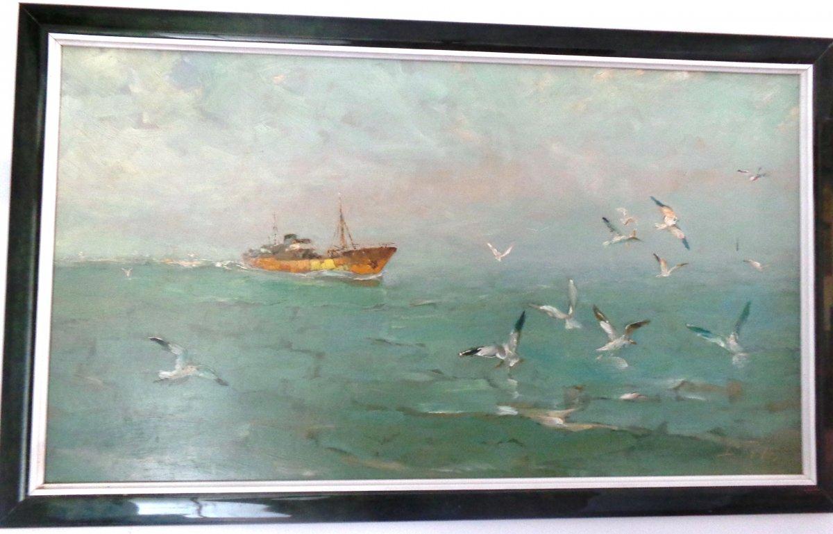 Peinture Marine Louis Royon
