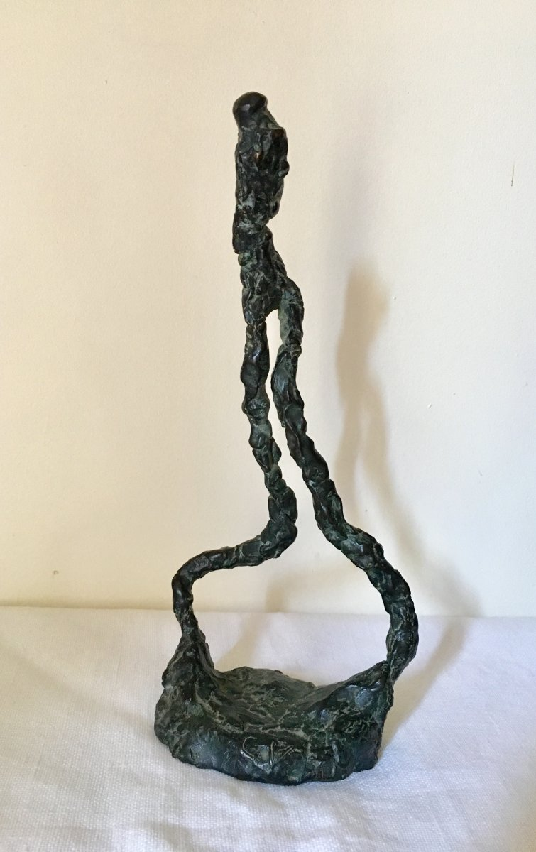 Bronze Sculpture Giacomitti Style