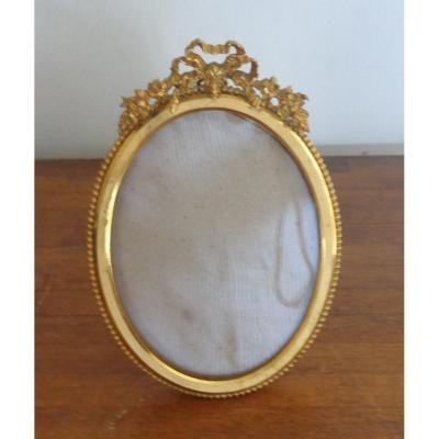 Gilt Bronze Photo Frame, Ep. Napoleon III
