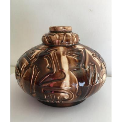 Vase Céramique Art Deco