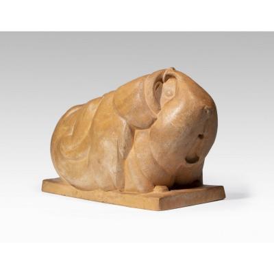 Merelle René (1903-1990), Cochon D'inde