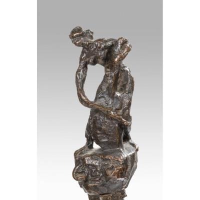Emile-antoine Bourdelle (1861 - 1929) The Cellist On The Column