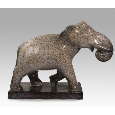 Blanc Pierre (1902-1986 Switzerland), Elephant