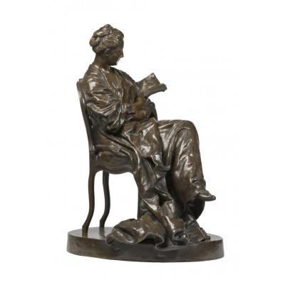 Dalou Jules (1838-1902) La Liseuse (1877-1881)