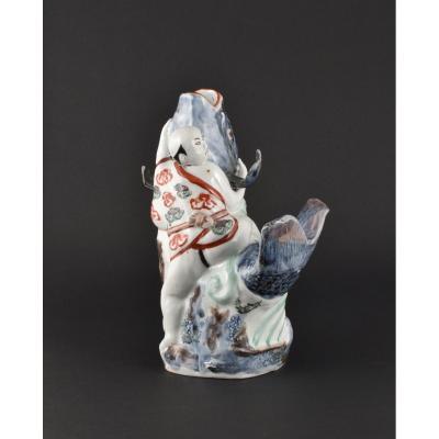 Vase En Forme De Carpe En Porcelaine Du Japon De La Fin Du XVIIe/début Du XVIIIe Siècle (Arita)