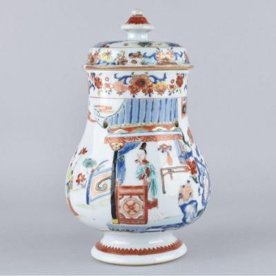 Pot-pourri En Porcelaine De Chine d'époque Yongzheng