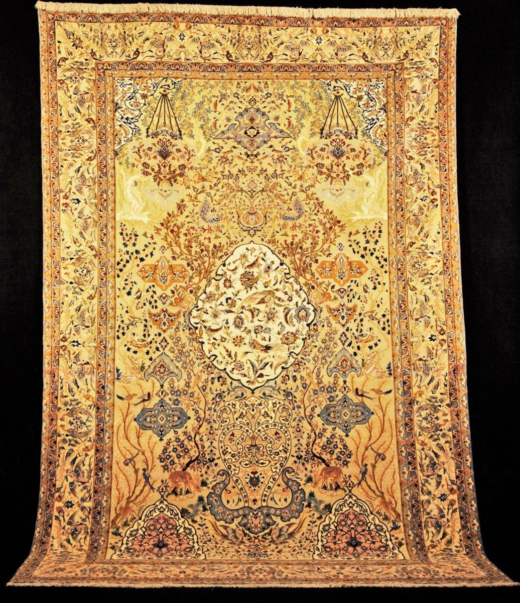 Isfahan (iran) Circa 1970 3m15 X 2m05 1,000,000 Pts / M²