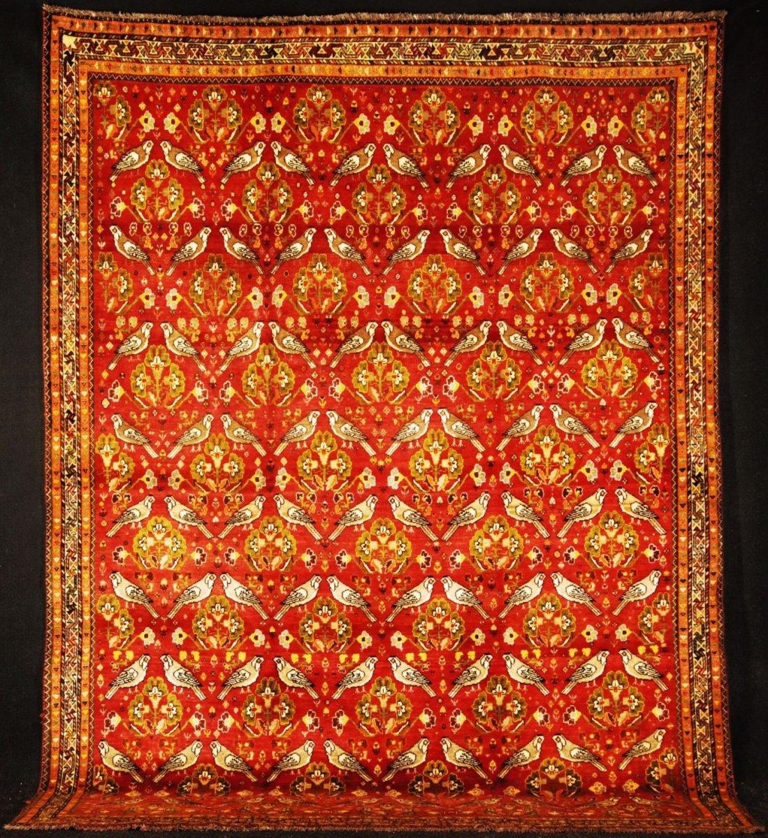 Gashgaï - Kachkouli  (Iran - mi-XXe)  3m10 X 2m28  Parfait état