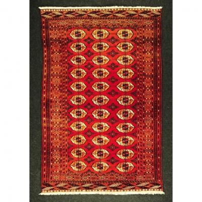 Bukhara Turkmenistan Circa 1950 Perfect Condition 2m08 X 1m40