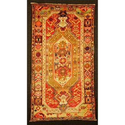 Karabagh (Caucase - Daté 1914)  Art-nouveau  2m37 x 1m33  Parfait état