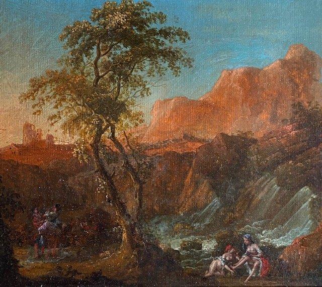 Attributed To Jean-baptiste Claudot Dit De Nancy (1733 - 1805), Nymphs At La Cascade-photo-2