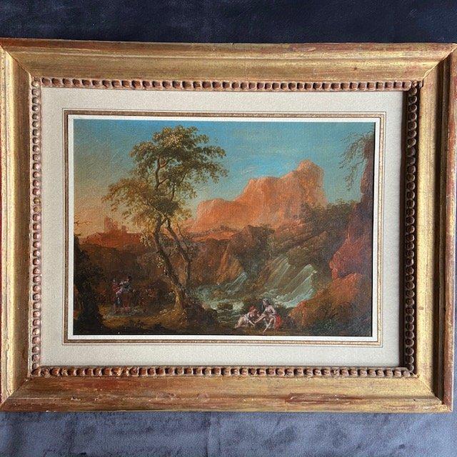Attribuée à Jean-Baptiste Claudot dit de Nancy (1733 - 1805) , Nymphes à La Cascade
