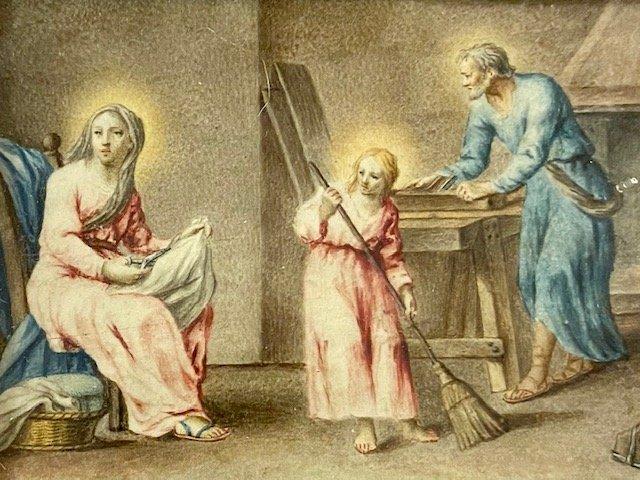 Ecole Française Du XVIIe Siècle, l'Enfance De Jésus