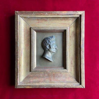 French School Of The XIXth Century, Profile Of The Professor Of Surgery Delpech, Bronze