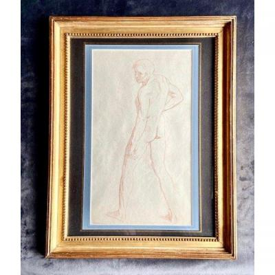 Jean-léon Gerome - Academy Masculine- Drawing