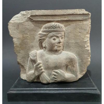Stèle Art Du Gandhara IIe / Vème Siècle Après Jc