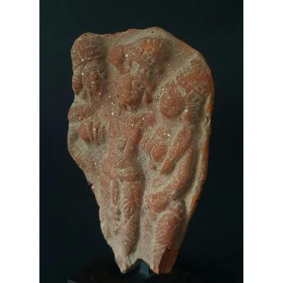 Triad Of Divinity, Chandraketugarh, Shunga North Of India, 1st Century Bc - 1st Century Ad Jc
