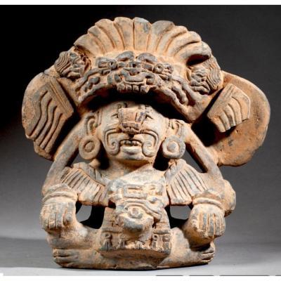 Zapotec God Cocijo Monte Alban Mexico 450-650 Ad