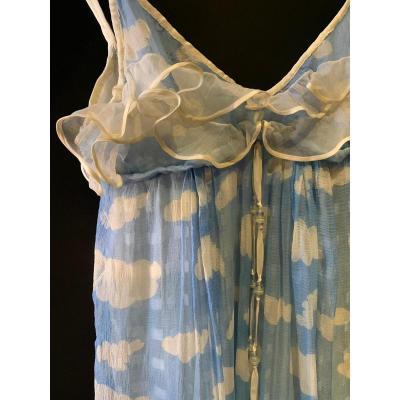 Rare Robe Courrèges Vers 1968