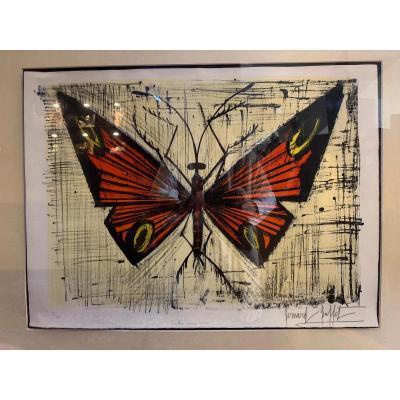 Lithographie Originale Bernard Buffet