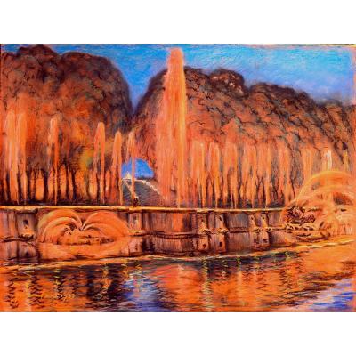 Jean Marie Boulan Parc De Versailles Feux Artifice Feeries Nocturnes Bassin Neptune Charmaison