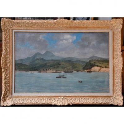 Ludovic Alfred De Saint Edme Antille Martinique Marine Rade De Fort De France Carbet Louisiane