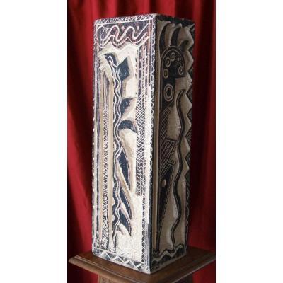 Zoum Walter Sculpture Pierre Totem Van Eedkhoudt Gide Valery Roquebrune Matisse Rysselberghe