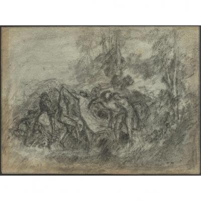 Henri Fantin Latour Grenoble Symbolisme Mort D Orphee Par Les Menades Argonaute Lyre Calliope