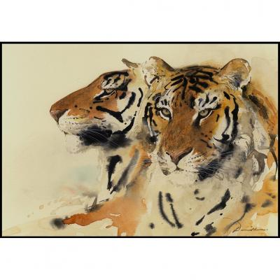 Liang Zhaoxi David Leung Siu Hay Animalier Fauve Tigres Asie Afrique Panthere Felin Bertholle