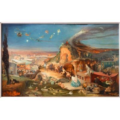 Gaston Hoffmann Tentation St Antoine Surrealisme Fantastique Clovis Trouille Nikolas Kalmakoff