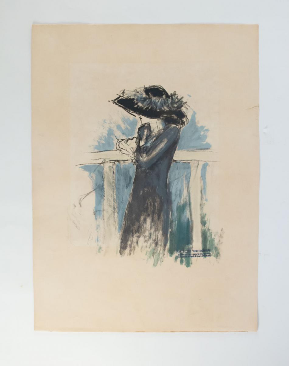 Specimen de lithographie de Jean-Pierre Cassigneul