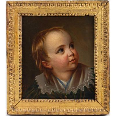 Portrait Of A Boy Boy Second Empire