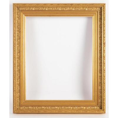 Carved Gilded Wooden Frame, Louis XVI Style