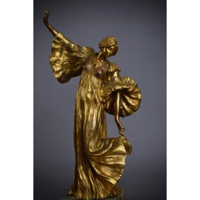Agathon Léonard, Bronze Sculpture