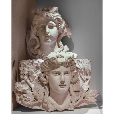 Louis-félix Chabaud, Ornamental Macarons - Ca 1860 - Opéra Montecarlo