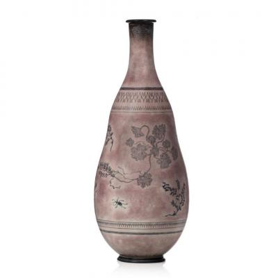 "Manufacture De Sèvres, Model Vase ""gensoli N ° 7""."