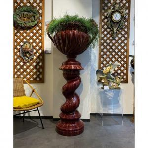 Delphin Massier, Large Complete Column Red