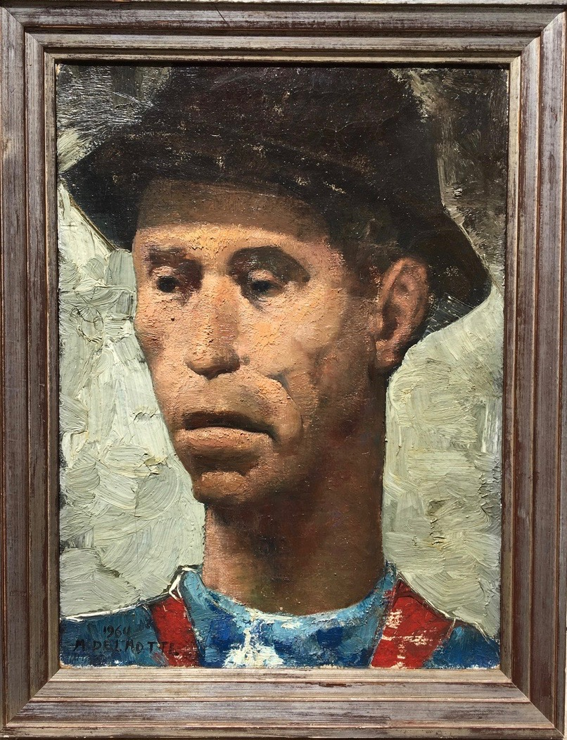 Portrait d'un mineur - Marcel Delmotte