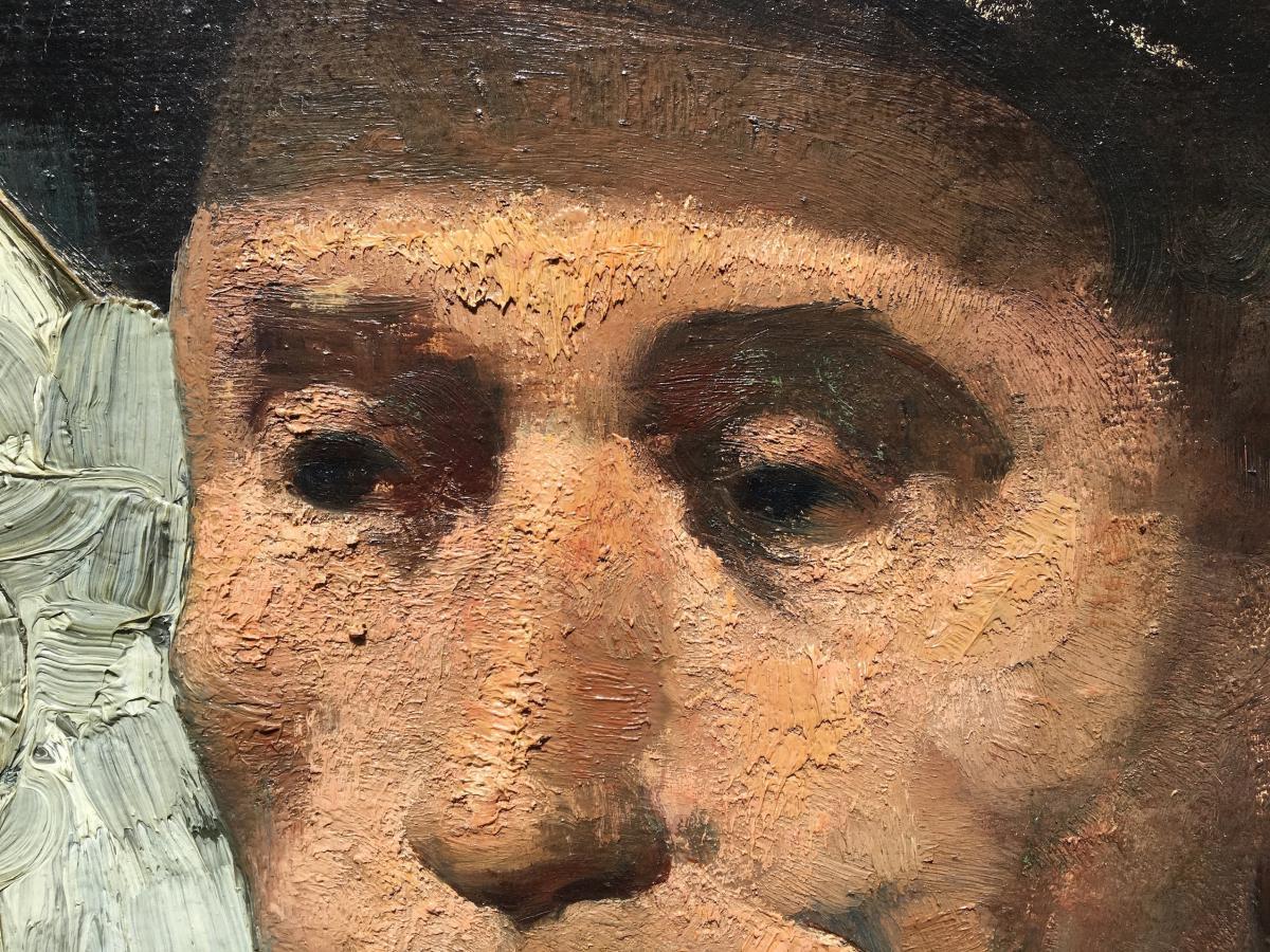 Delmotte Marcel - Portrait Of A Miner