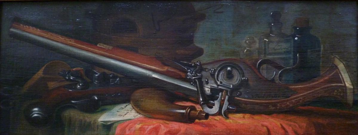 BALZE Paul - Arquebuse  à rouet-photo-2