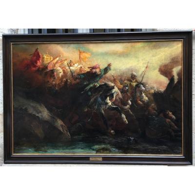 Traversée de la mer rouge - Édouard Odier